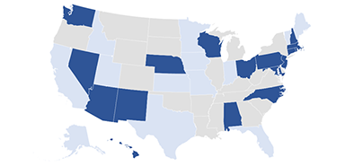 Incoming Criminal Caseloads and Rates<br /> in 31 States, 2016