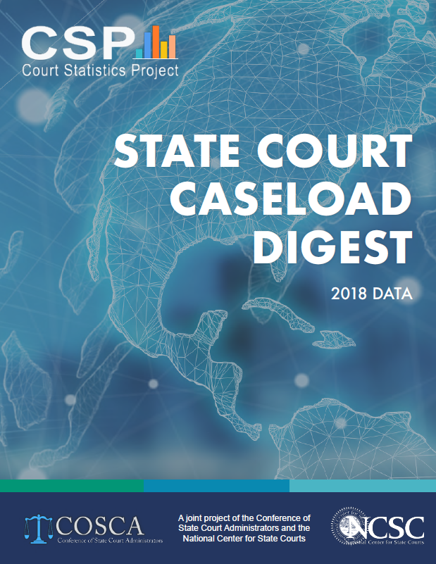 CSP State Court Caseload Cover 2018